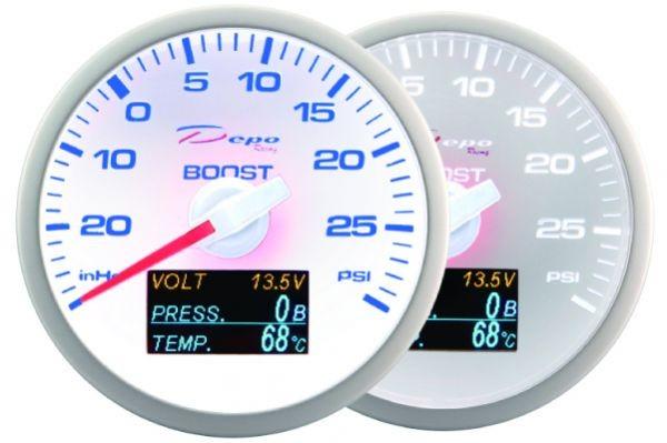 ZEGAR DEPO WBL 60mm - 4w1 Turbo, Volt, Oil Press, Temp - GRUBYGARAGE - Sklep Tuningowy